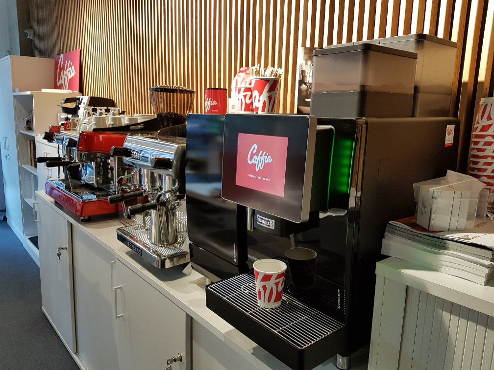 London Corporate Coffee Machines Showroom