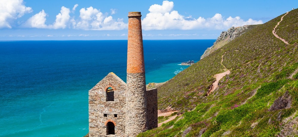 Wheal Coates Mine, Cornwall, South West England.