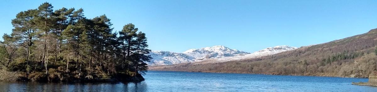 Loch Katrine in Scotland