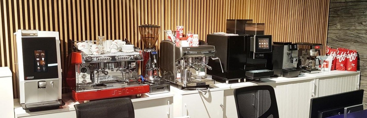 Automatic Coffee Machine Showroom