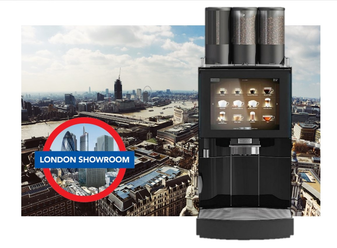 Office Coffee Machine Showroom London