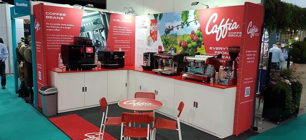 Caffia Coffee Group at ScotHot Show Glasgow