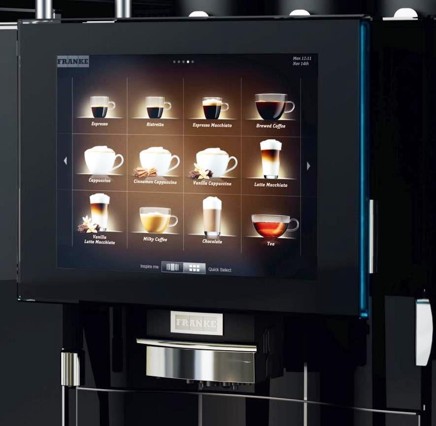 Franke FM 750 Coffee Machine