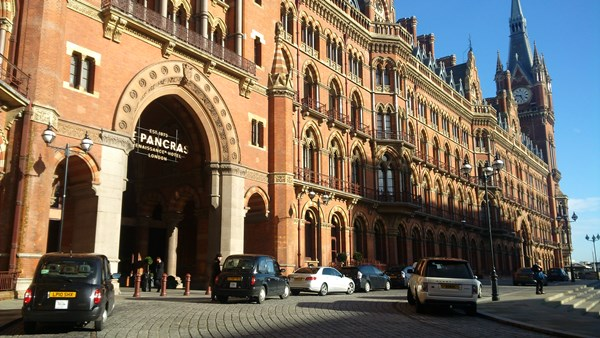 St Pancras Hotel London