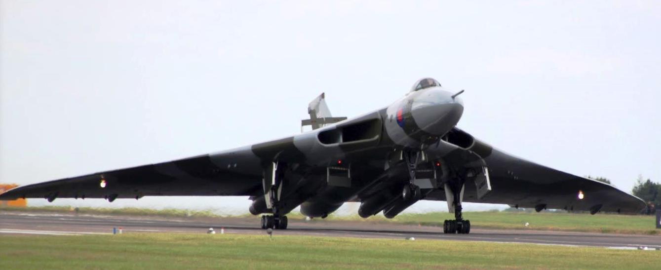 Vulcan Aircraft RAF Waddington Lincolnshire