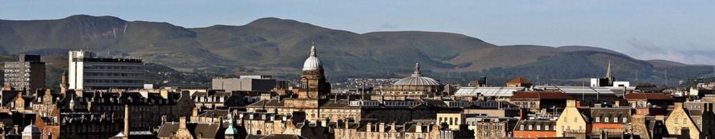 University of Edinburgh and Arthur's Seat.