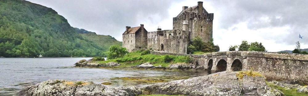 Eilean Donan Castle Landscape - Copy