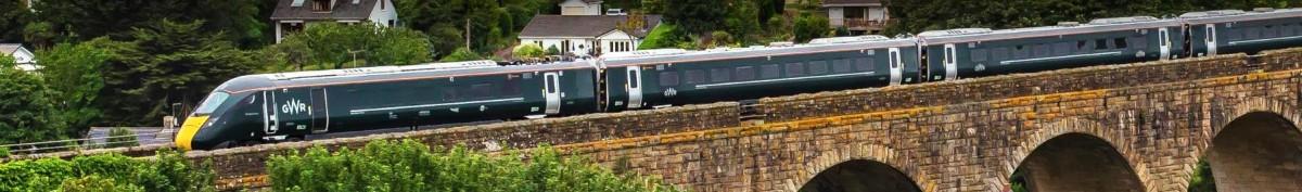 GWR Train Swindon Wiltshire