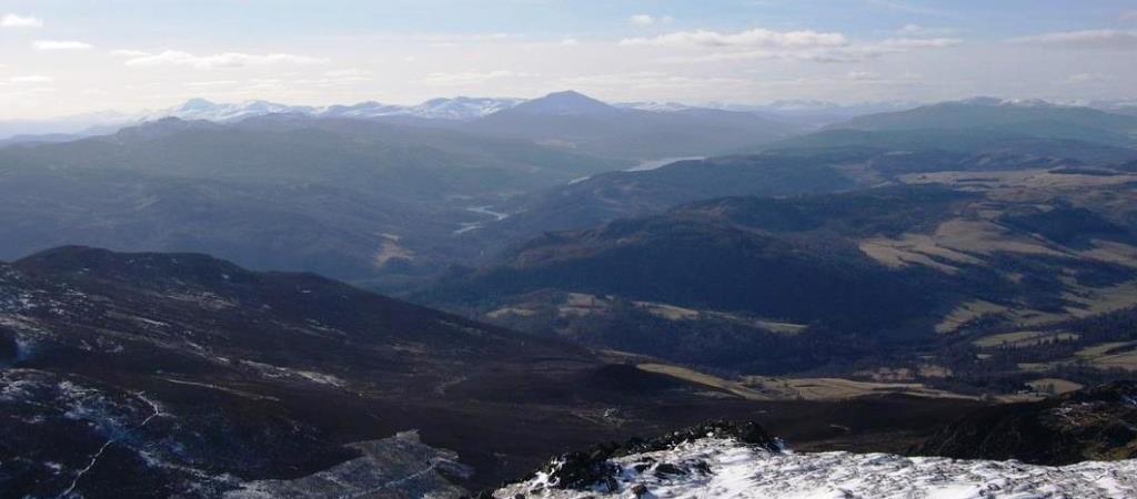 Highland Perthshire Loch Tummel and Loch Rannoch