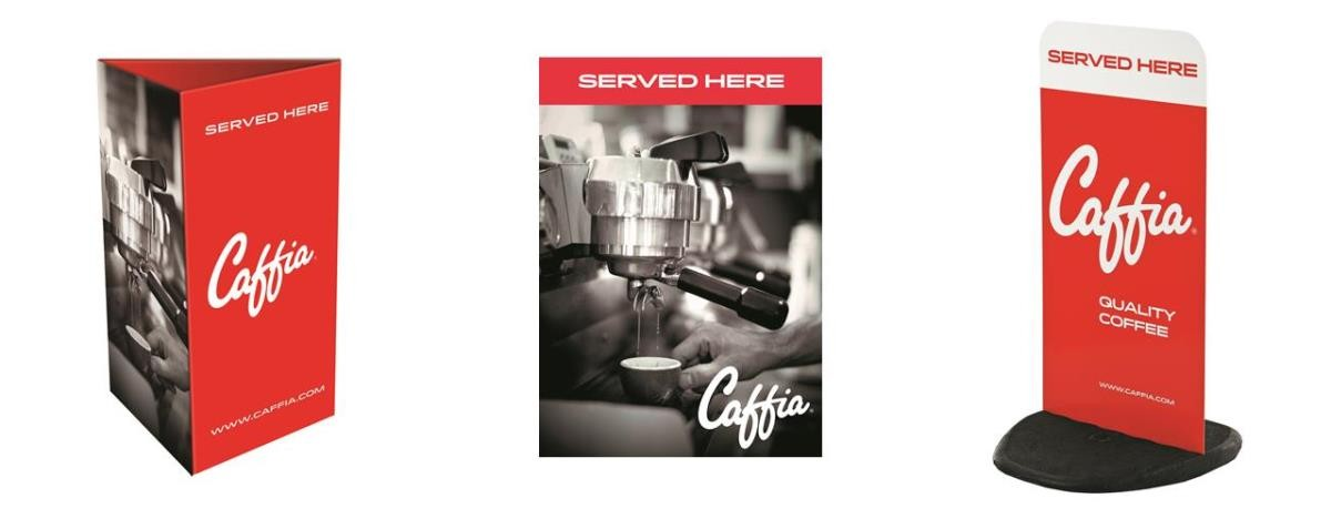 Caffia Point Of Sale Items