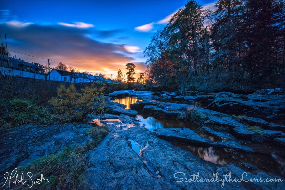 Killin Scotland By Malcolm Smith
