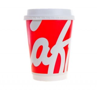 Coffee To Go Caffia Double Wall Paper Cup