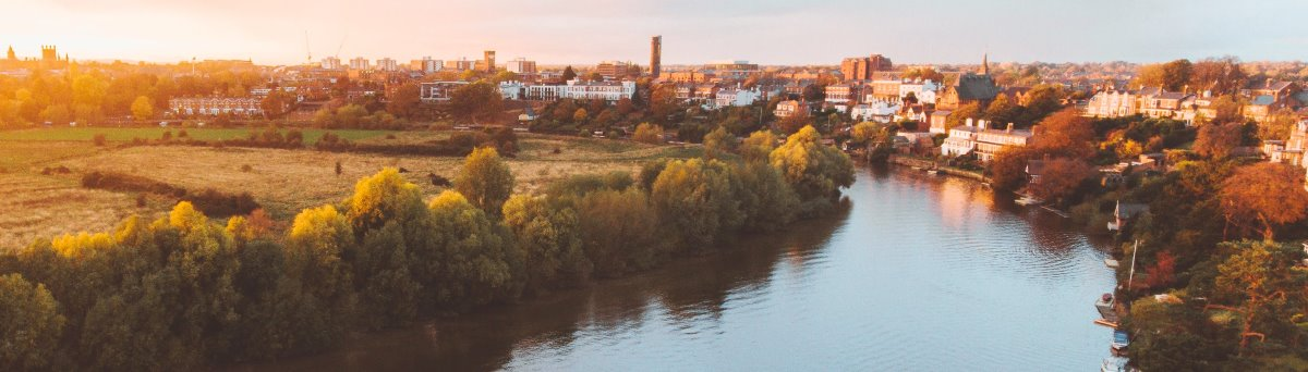 City of Chester in Cheshire