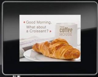 Franke A400 Coffee Machine Selection Screen