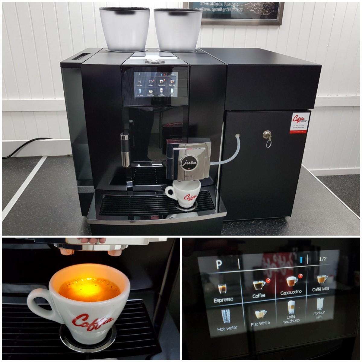 Jura Giga X8 Generation 2 Coffee Machine - Caffia Coffee Group
