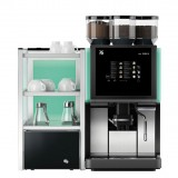 WMF 1500S Coffee Machine And Milk Chiller