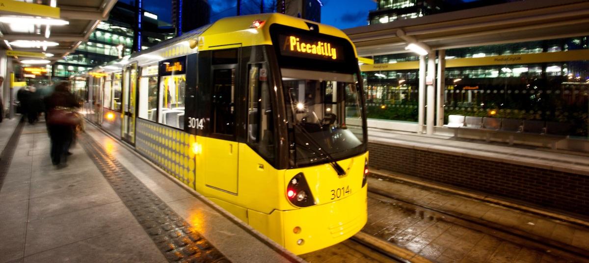 Manchester City Tram
